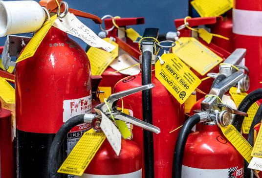 Fire Extinguishers and Fire Hose Reels