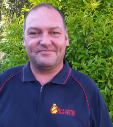 Mark Gunn, Fire Control Technician